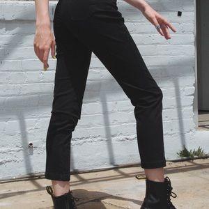 Brandy Melville Black Denim Jeans